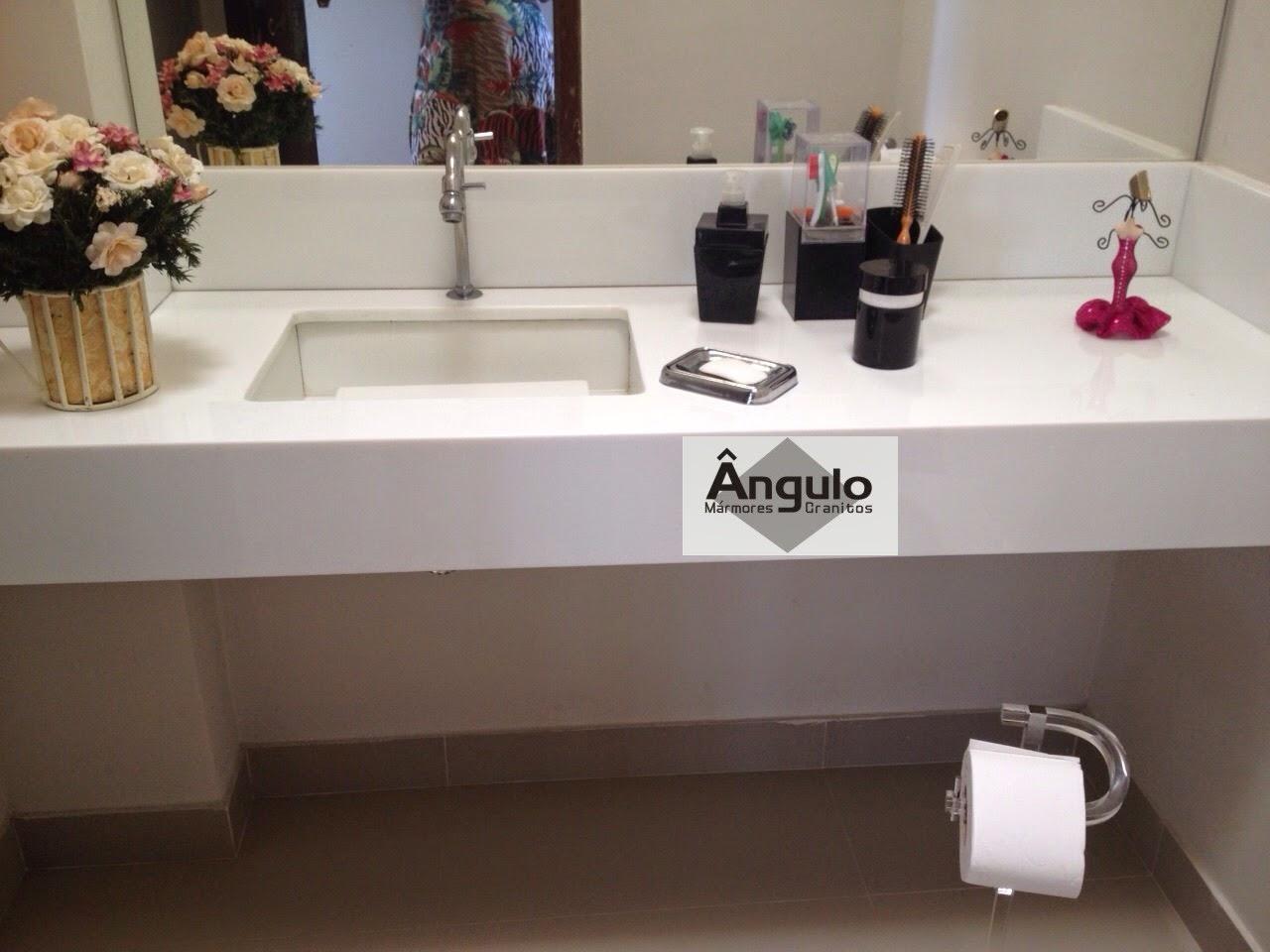 Ângulo Mármores e Granitos Pia Esculpida -> Pia De Banheiro Em Nanoglass