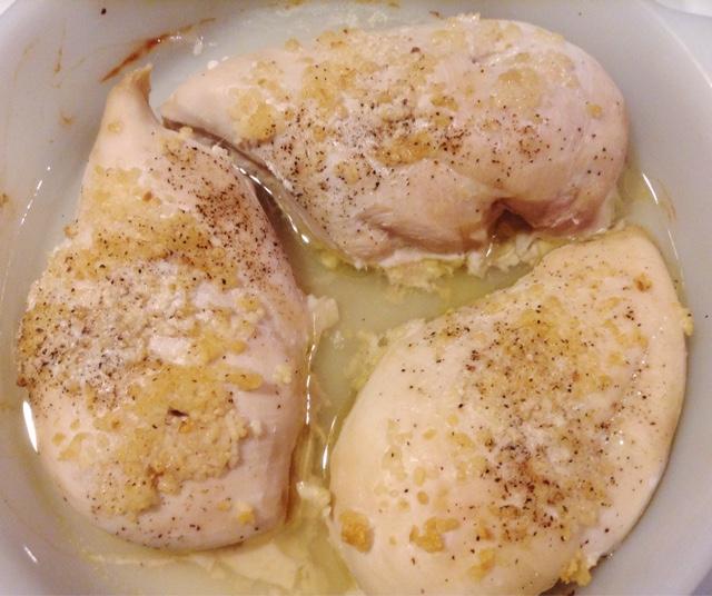 perfect garlic roasted chicken