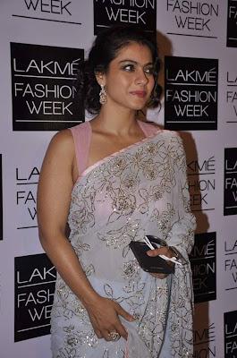 Kajol Devagan walk for Shehla Khan at LFW (Lakme Fashion Week) 2013