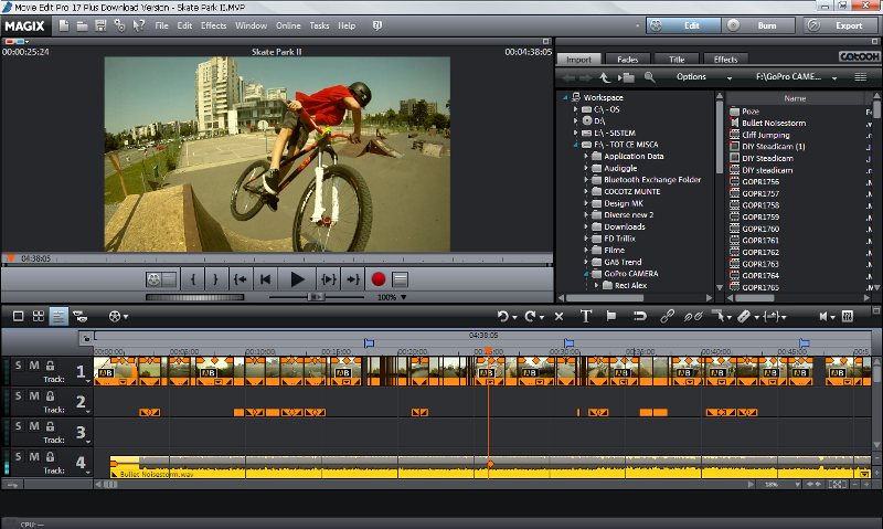 Editing software for gopro videos