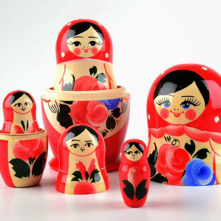 Nesting Dolls from Russia
