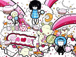 Cute Cartoon Candy
