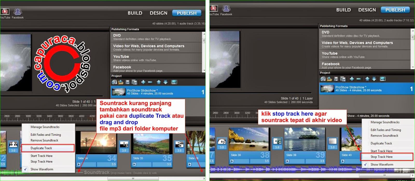 Cara membuat video dari kumpulan gambar atau foto,proshow producer,