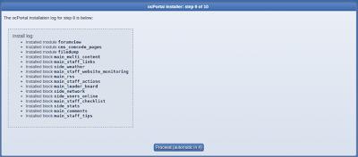 install ocportal step 9