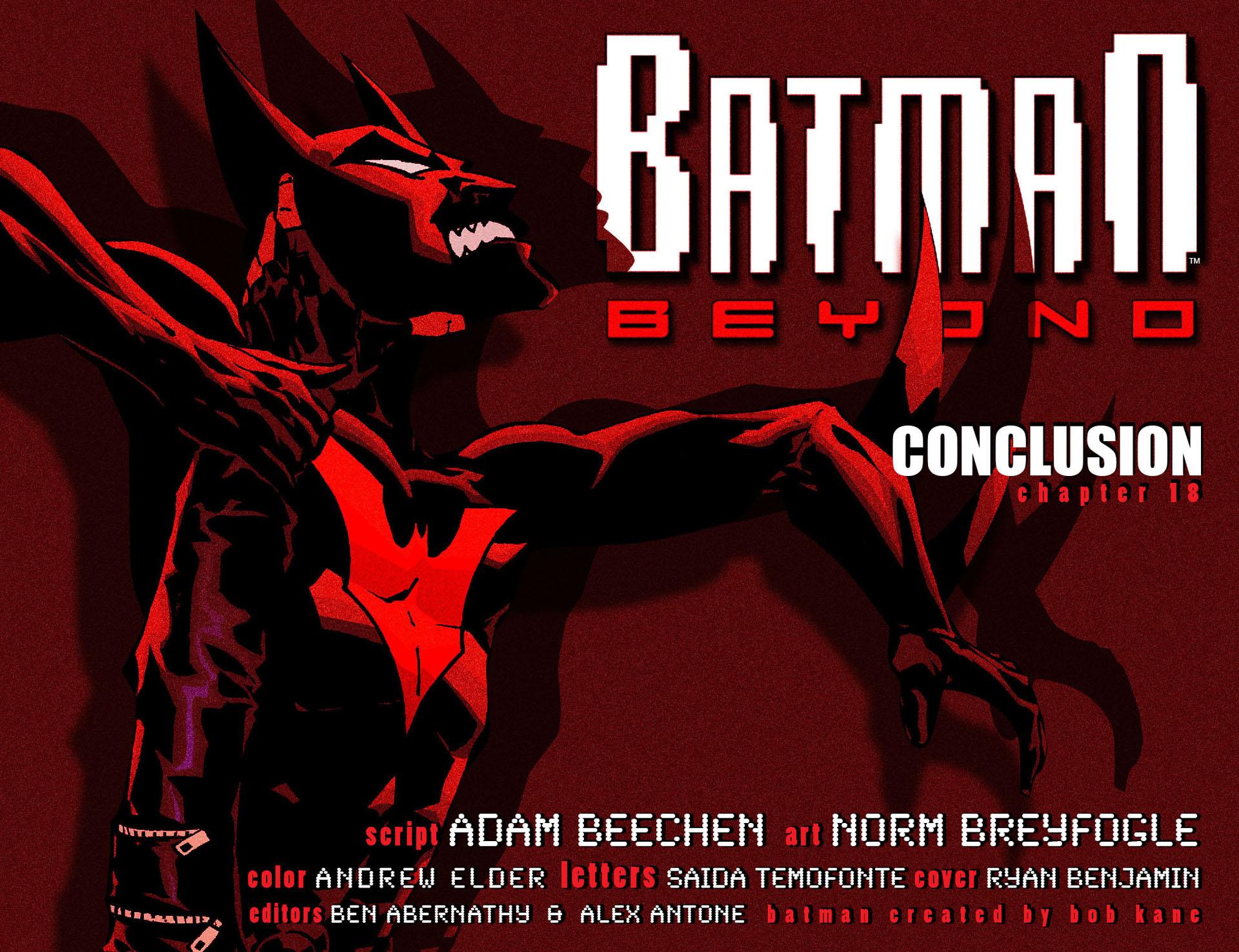 Batman Beyond (2012) Issue #18 #18 - English 2