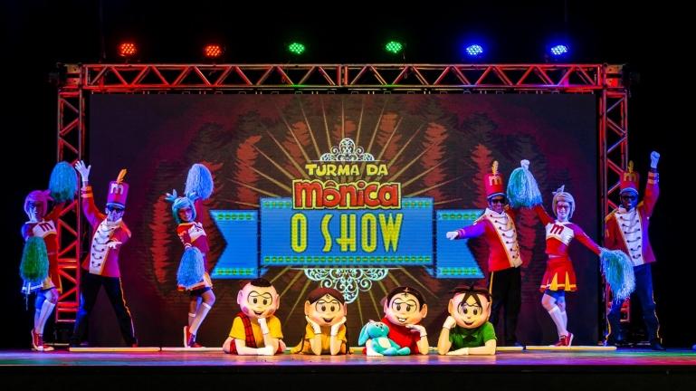 Turma da Mônica, o Show - foto divulgação internet