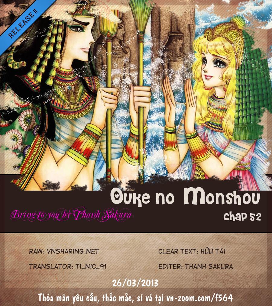 Nữ Hoàng Ai Cập-Ouke no Monshou chap 52 Trang 1 - Mangak.info
