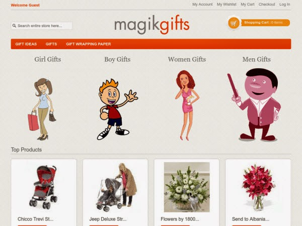 E-commerce Magento Theme