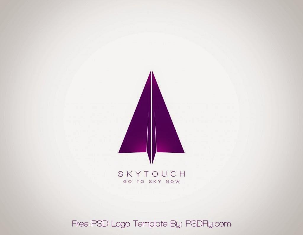 free psd logo template