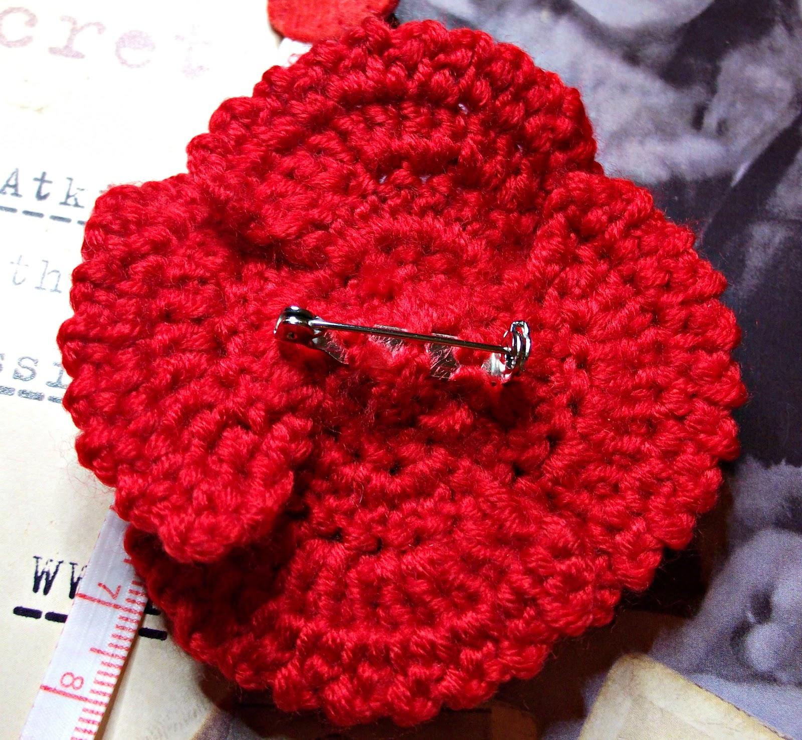 Knitting Pattern For British Legion Poppy