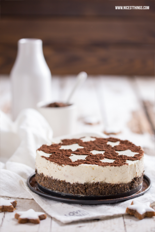 Zimtstern-Cheesecake - das perfekte Dessert fu00fcr ...