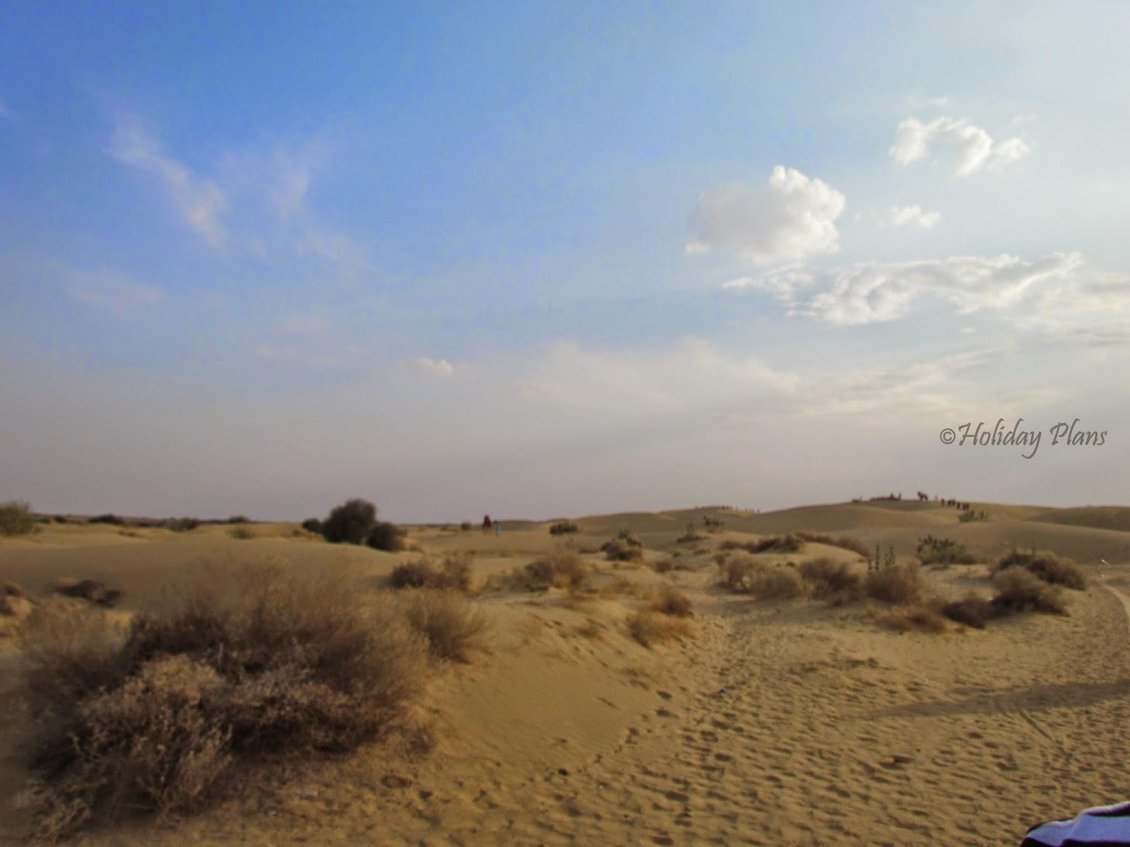 Thar Desert-Barren Land