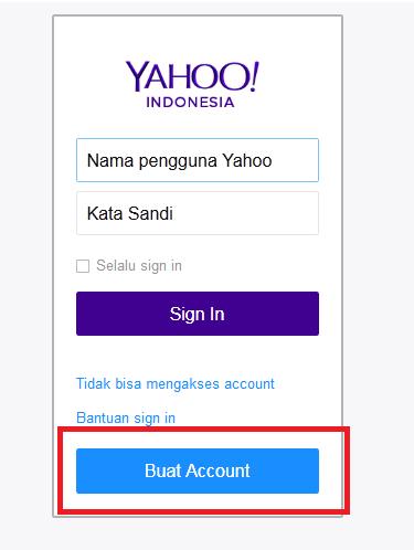 Cara Membuat Email Di Yahoo 2015