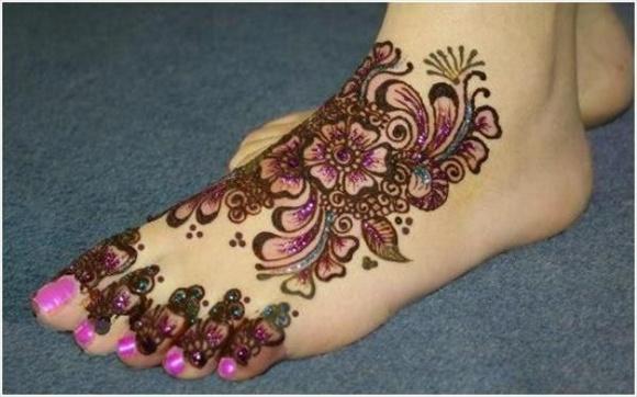 latest design of bridal mehndi