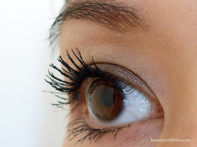 Natural Angel Lash Extender after