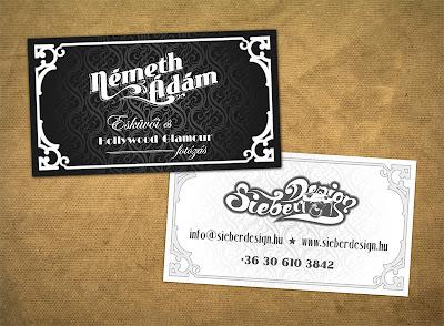 tarjetas de presentacion vintage