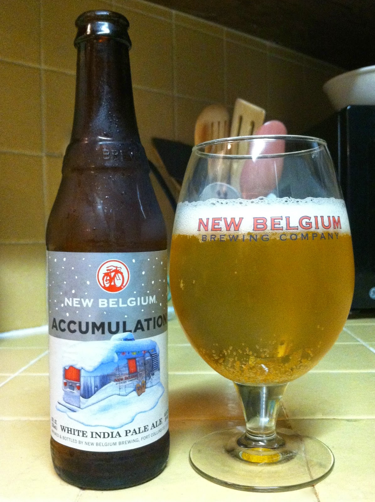 New Belgium Accumulation White IPA  1