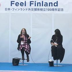 På Finlandsinstitutet i Tokyo, 2019
