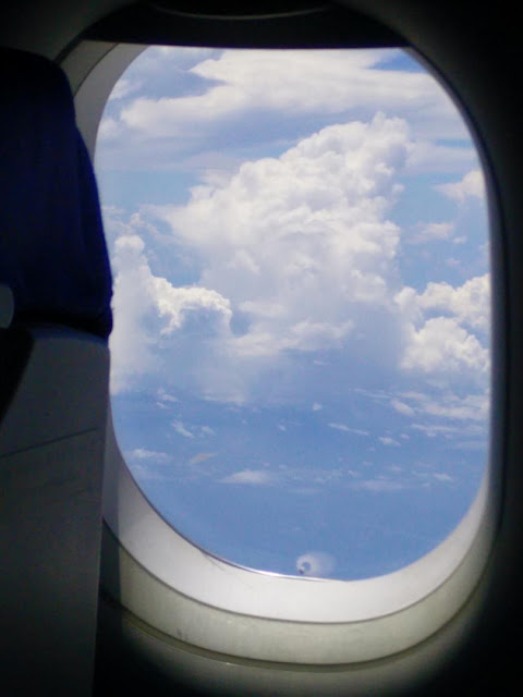 Clouds from the Plane