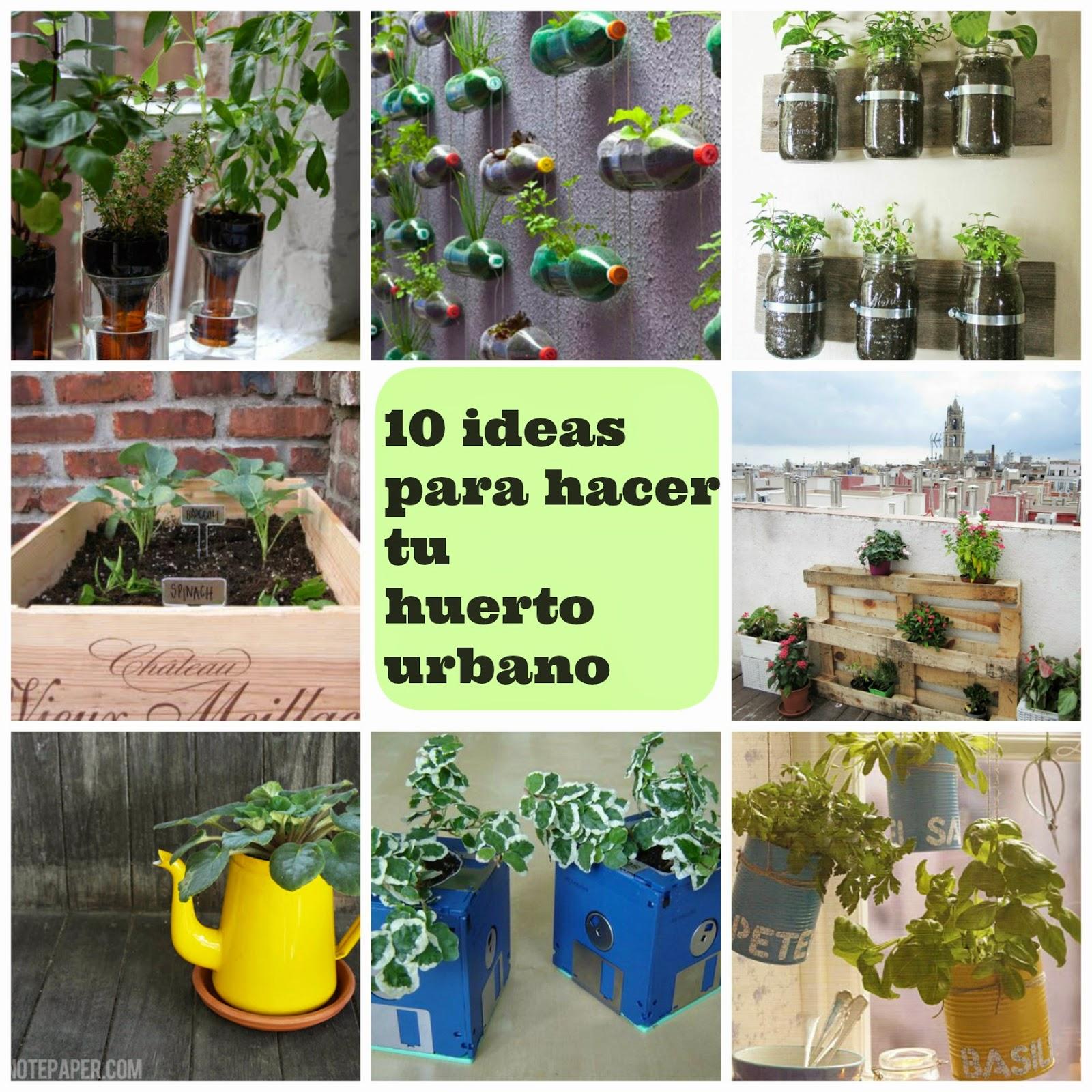 10 ideas para hacer tu huerto urbano manzanaterapia - Huerto en casa ikea ...