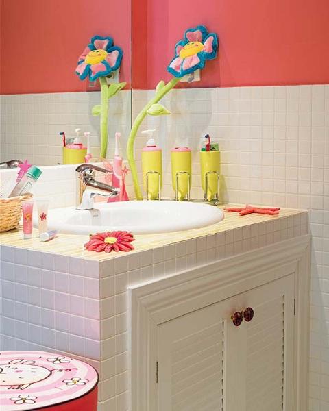 Ideas Para Decorar Baños De Ninos:Decora el hogar: Decoración de baños para niños