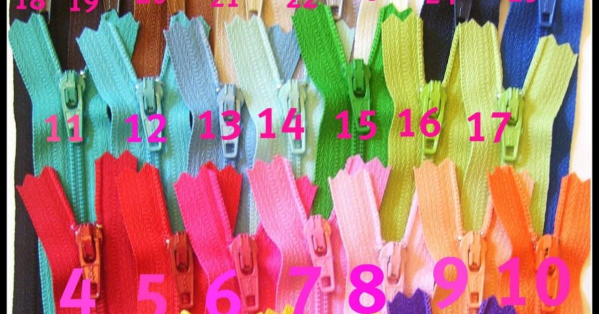 Zippers Ykk Zippers Colors