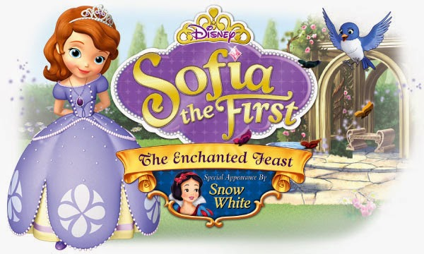 Sofia the First The Enchanted Feast DVD