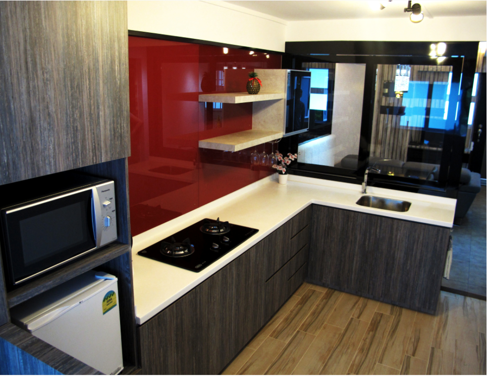 Aldora revised 4 room hdb renovation ideas for Kitchen ideas hdb