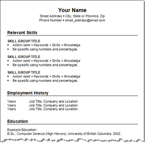 resume examples for teenagers - How To Write A Resume Teenager