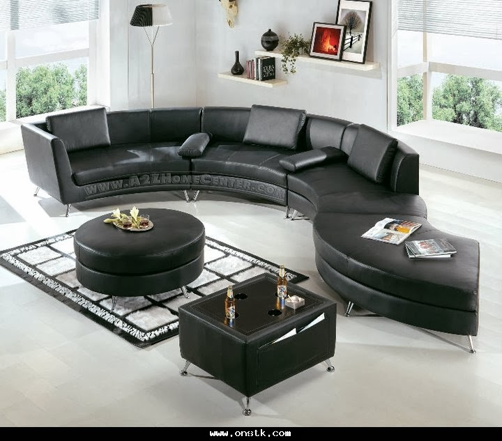 Living room interior design with black and white furniture for Interior decorating terms