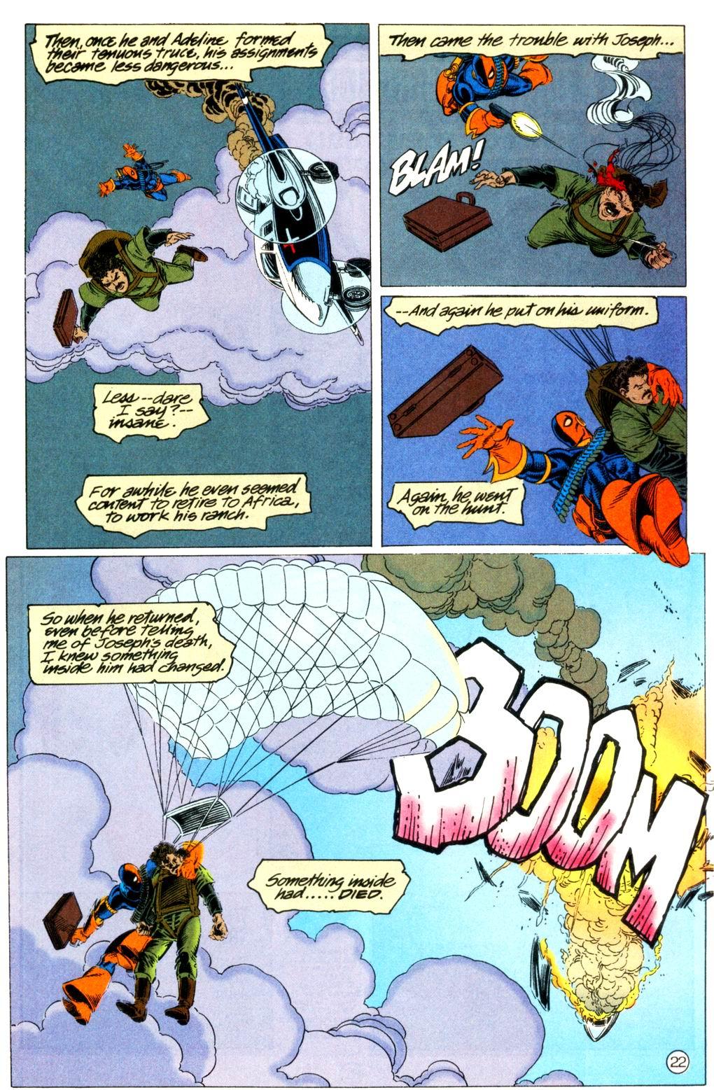 Deathstroke (1991) Issue #11 #16 - English 23