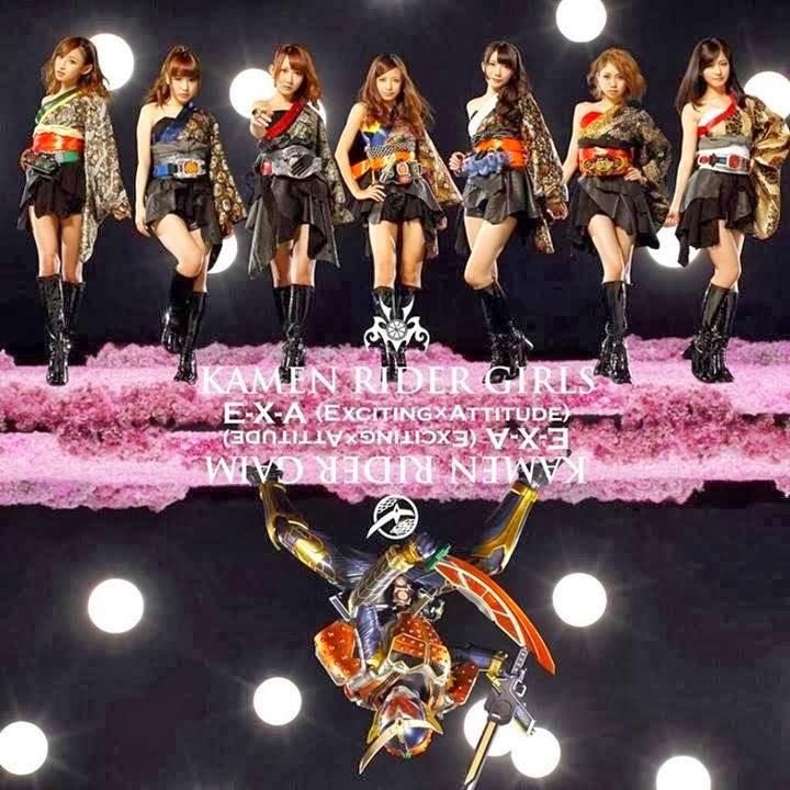 [PV] Kamen Rider Girls Exciting X Attitude (E-X-A)