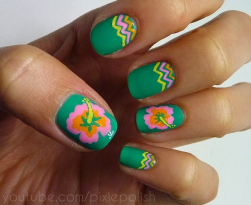 top tuesday summer nail design