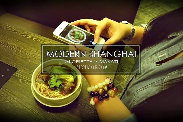 Modern Shanghai Chinese Restaurant Glorietta 2 SM MOA, MOdern Shanghai Philippines Branches, Location, Website, Facebook, Operating Hours, Contact Nos. One of the Best Food Blogger in Manila's Birthday Celebration