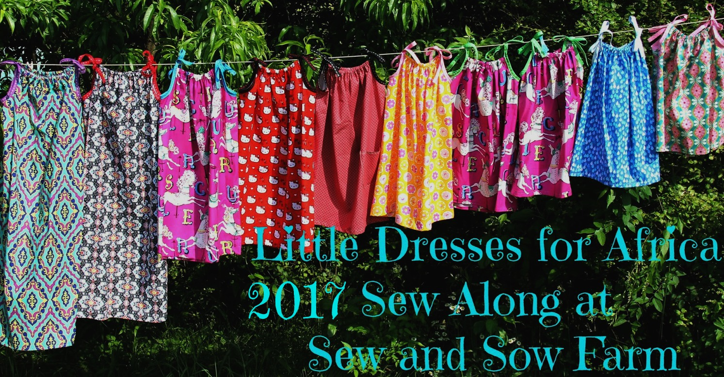 Little Dresses for Africa 2017 Sew-a-long!