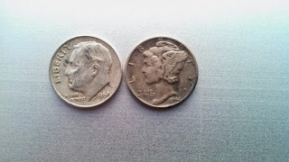 Silver Finds from Coin Roll Hunting