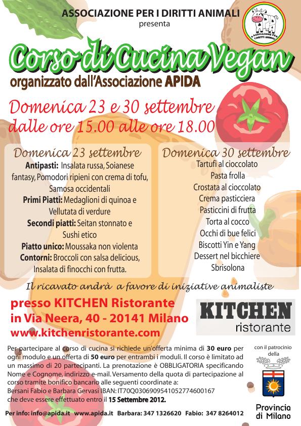 corso di cucina vegan a milano