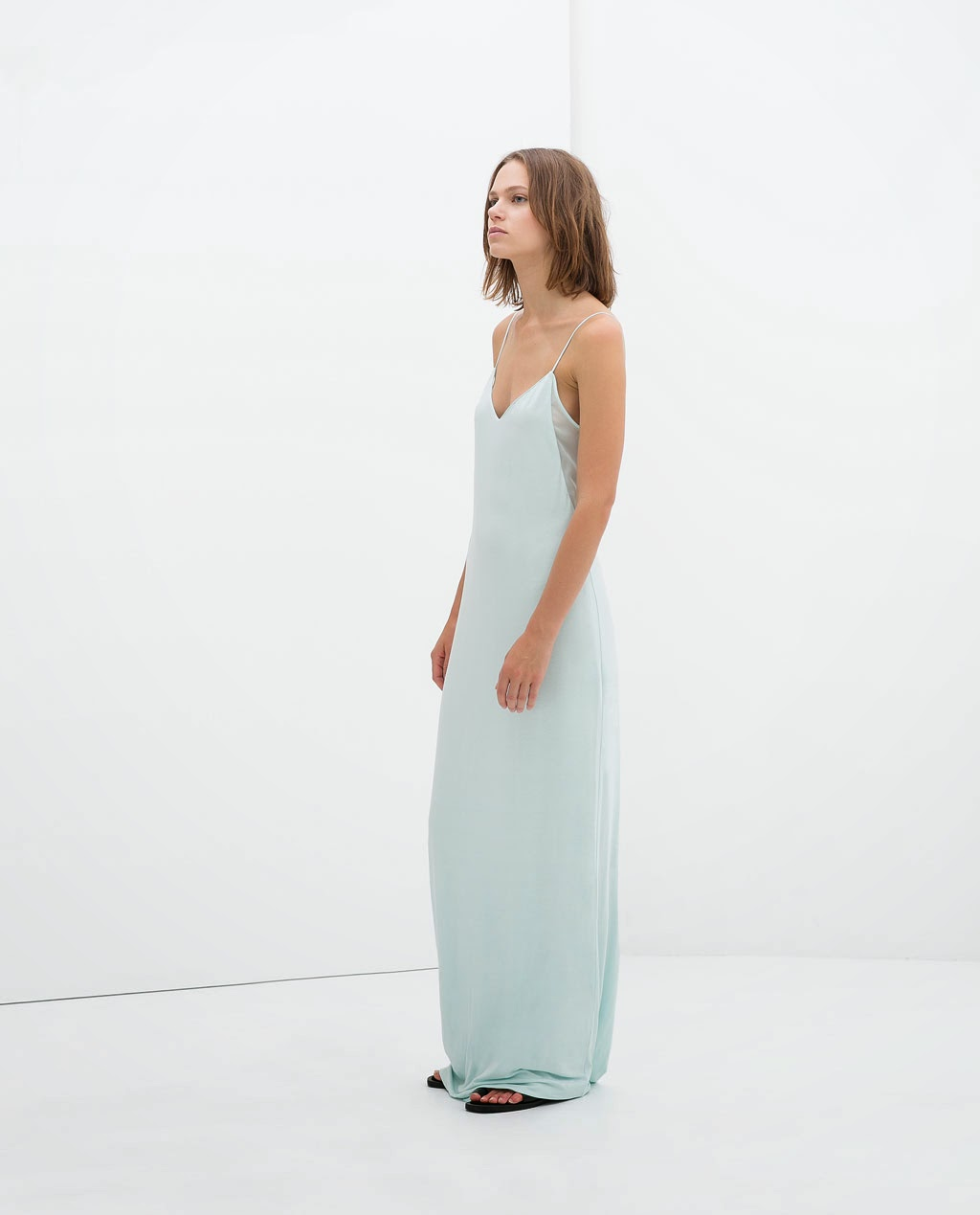 vestido largo básico