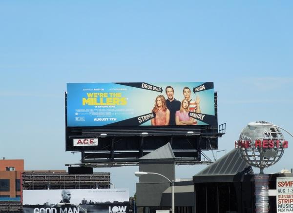 We're The Millers film billboard