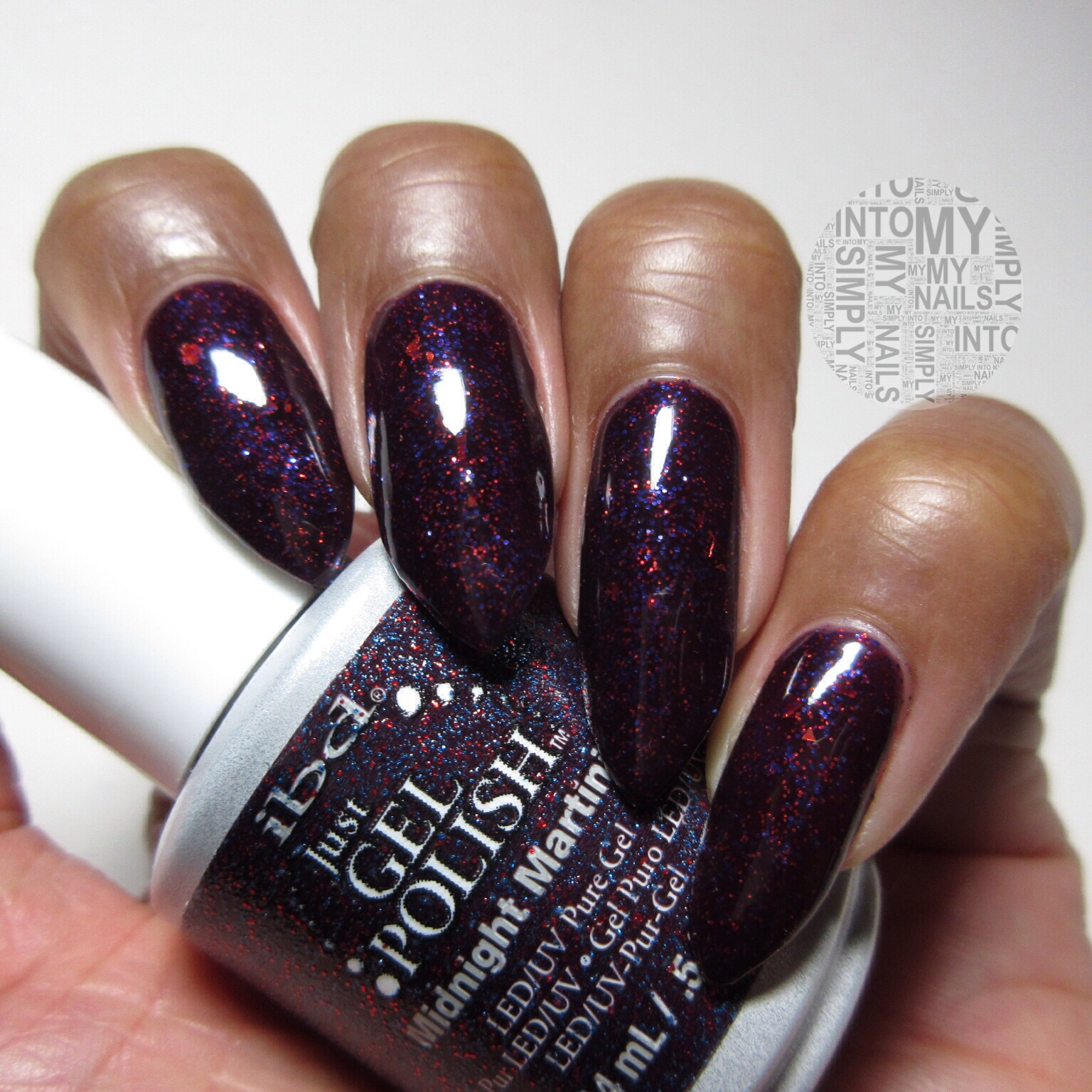 Mini Manicures Ibd Midnight Martinis