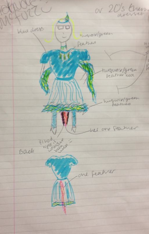 The costume design for Gertrude McFuzz is the polar opposite of Mayzieu0027s costume. which is appropriate as there characters are very different. & Seussical - Stage and Costume design. | GraceBrandonYear12MT