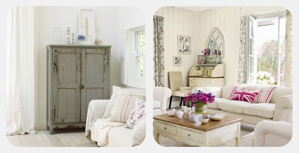 Sweet moment my style for Case shabby chic country