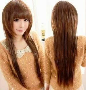 Rambut Panjang Wanita Korea 2015