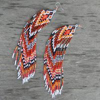 купить украшения этно бохо трайбл серьги мегадлинные длинные