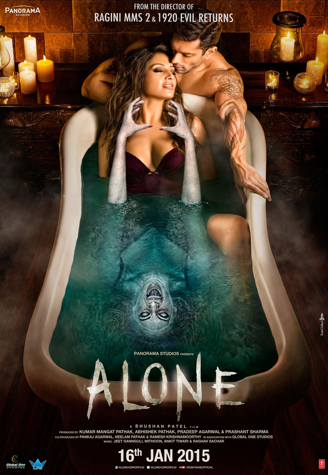 Alone (2015) Hindi Movie DVDScr