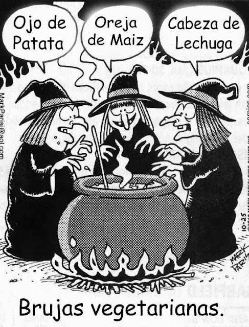 brujas vegetarianas