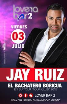 Jay Ruiz en Lovera Bar