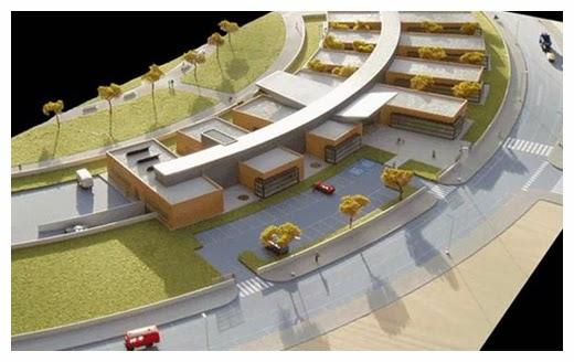 Diseño del centro de salud de Las Tablas
