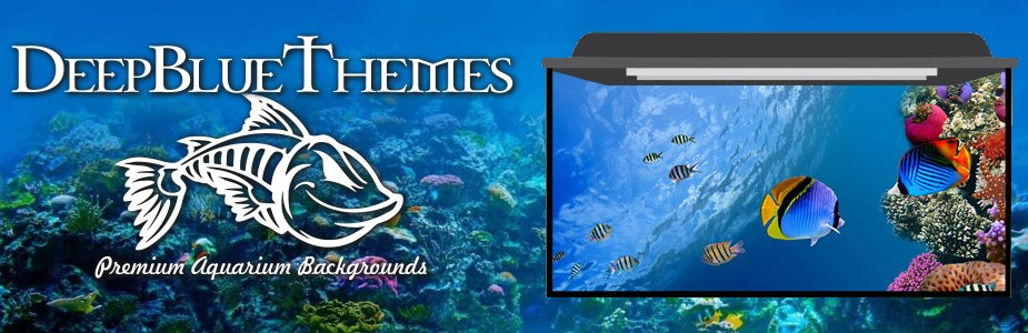 DeepBlueThemes.com Aquarium Backgrounds