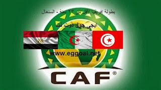 تشكيل + القنوات التى تنقل مباراة مصر و الجزائر بث مباشر egy vs alger